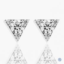 Hearts on Fire 18kt white gold diamond earrings