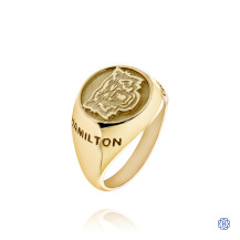 Hamilton Tiger-Cats 10kt Yellow Gold Ladies Ring