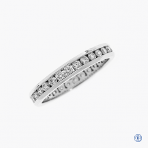 14k white gold 0.75ctw diamond eternity band