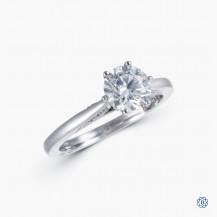Tacori Simply Tacori 18k White Gold 1.01ct Swarovski Lab Created Diamond Engagement Ring