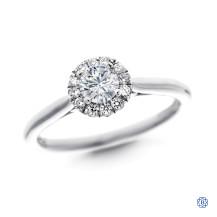 Gabriel & Co. 14kt White Gold 0.28ct Diamond Engagement Ring