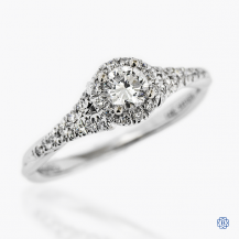 Gabriel & Co. 14kt white gold 0.25ct Engagement Ring