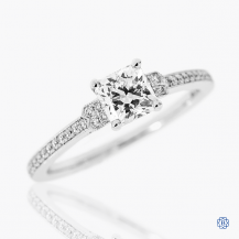 Hearts on Fire 18k white gold 0.73ct diamond engagement ring