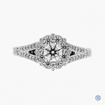 Hearts on Fire 18k white gold 0.31ct diamond engagement ring