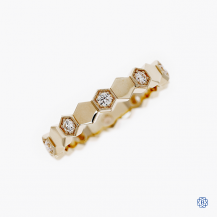 Hearts on Fire 18kt Yellow Gold Diamond Band
