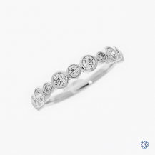 Hearts on Fire 18kt White Gold Diamond Band