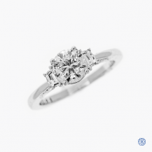 Tacori Simply Tacori 18kt White Gold 1.00ct Diamond Engagement