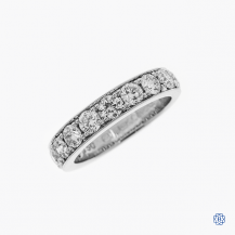 14k white gold 1.50ctw diamond band