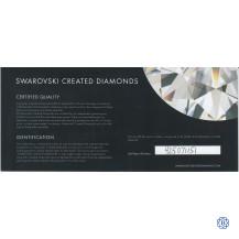 Swarovski 1.62ct Princess Lab Grown Diamond
