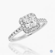 14kt white gold 1.01ct Maple Leaf Diamond Engagement Ring