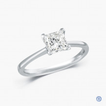 14kt white gold 1.11ct Maple Leaf Diamonds Engagement Ring