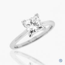 18kt white gold 1.51ct Maple Leaf Diamonds Engagement Ring