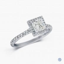 18kt white gold 1.03ct Maple Leaf Diamonds Engagement Ring