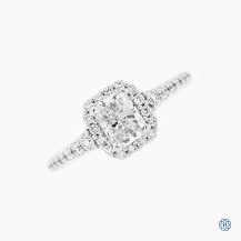 18kt White Gold 1.01ct Diamond Engagement Ring