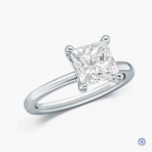 14kt White Gold 2.31ct Swarovski Lab Created Diamond Engagement Ring