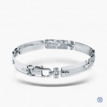 10k White Gold Bracelet