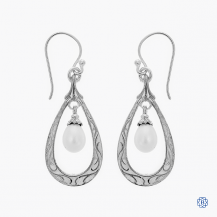Scott Kay sterling silver drop earrings