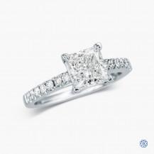14k White Gold 1.52 Lab Created Diamond Engagement Ring