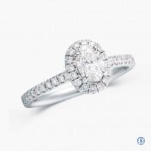 14k white gold 0.50ct Diamond Engagement ring