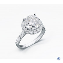 14kt white gold  3.12ct Diamond Engagement Ring