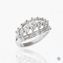 platinum 1.76ctw diamond ring