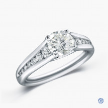 Hearts on Fire 18kt White Gold 1.01ct Diamond Engagement Ring