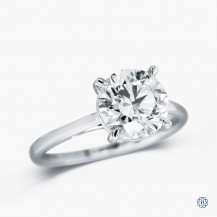 14kt white gold 2.30ct Lab Created Diamond Engagement Ring