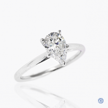 14kt white gold 1.00ct Lab Created Diamond Engagement Ring