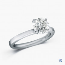 14k white gold 1.18ct diamond solitaire engagement ring