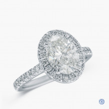 18kt White Gold 2.09ct Diamond Engagement Ring