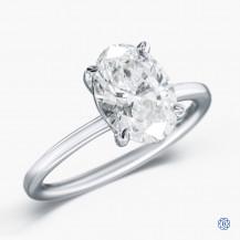 18kt white gold 2.26ct Maple Leaf Diamond Engagement Ring