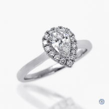 14kt White Gold 0.70ct Diamond Engagement Ring