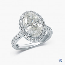 18kt  White Gold 4.00cts Diamond Engagement Ring