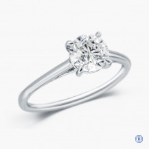 14kt White Gold 1.01ct Lab Created Diamond Engagement Ring
