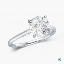 14kt White Gold 2.01ct Lab Created Diamond Engagement Ring