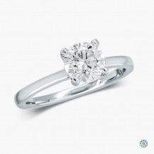 14k White Gold 1.03ct Diamond Solitaire Engagement Ring