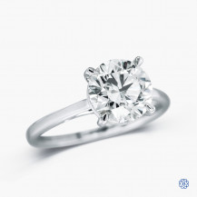 14kt White Gold 1.30ct Engagement Ring