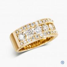 10kt Yellow Gold 2.00cts Diamond Ring
