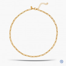10kt Yellow Gold Paperclip Chain