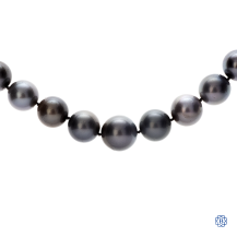 South Sea Pearl Necklace with Diamonds