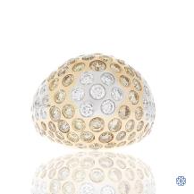18kt Rose Gold Diamond Ring