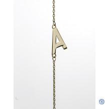 ME 10kt Gold Letter Bracelets