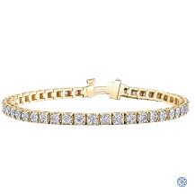 Diamond Envy 10kt gold 1.00ct diamond bracelet