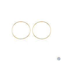 Bella Keepers 10kt Gold Hoop Earrings