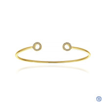 Gabriel & Co. 14kt Yellow Gold Diamond Bracelet