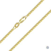 Box Style Gold Chain