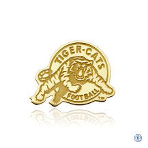 Hamilton Tiger-Cats 10kt Yellow Gold Pin
