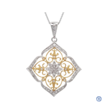 18kt Yellow and White Gold Diamond Katherine Necklace