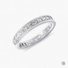 18k white gold 2.08ctw diamond eternity band