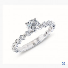 Hearts on Fire 18k white gold 0.51ct diamond engagement ring